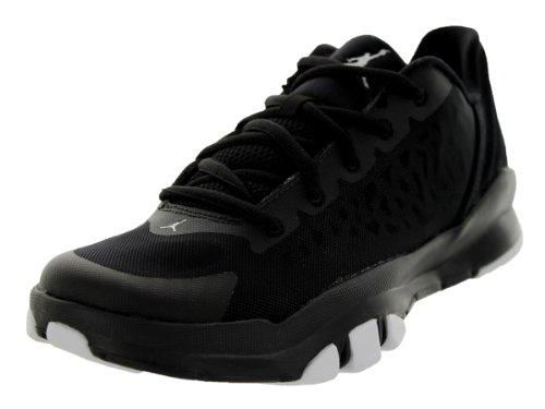 Nike Jordan Kids Jordan Dominate Pro 2 BG Black/White Training Shoe 7 Kids US