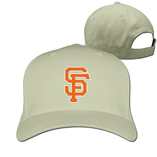 Price comparison product image Show Time Giant SF Logo Unisex Sports Peaked Cap Flexfit Hat Natural