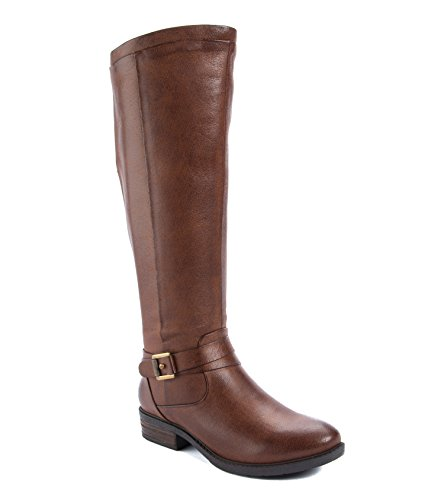BareTraps Women's Bt Yvonna Riding Boot, Brush Brown, 7.5 US/7.5 M US