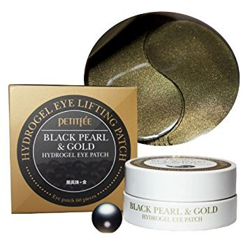 Pearls 60 Pearls - *Petitfee* Blackpearl&gold Hydrogel Eyepatch. Eye Patch60ea