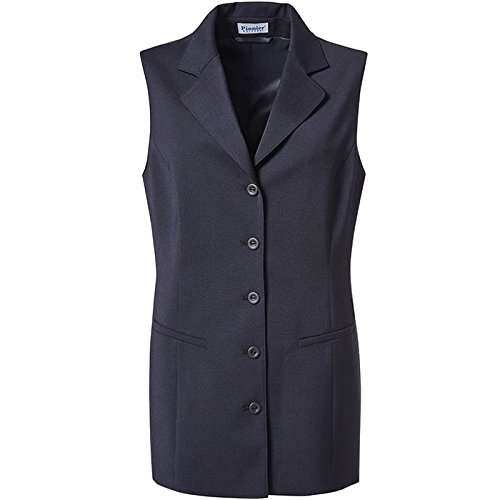 Pionier 9764-42 Damen WesteBusiness Fashion lang Gr/ö/ße 42 in marine blau