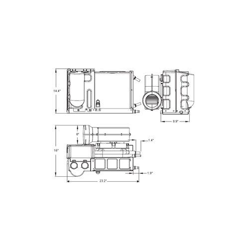 Aire acondicionado y calefactor marino 11000BTU PowertecOutboards: Amazon.es: Deportes y aire libre