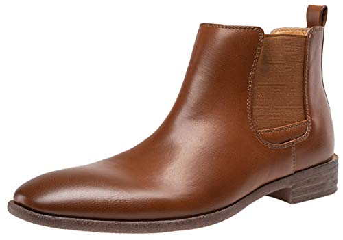 Image of JOUSEN Men's Chelsea Boots Elastic Formal Ankle Dress Boots Men