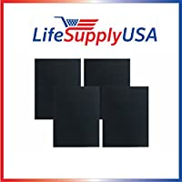 8 Pack Carbon Replacement Filters for Winix 115115 Size 21 By LifeSupplyUSA
