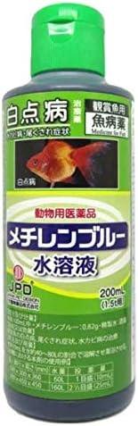 ジェックス 【動物用医薬品】メチレンブルー水溶液 200mL