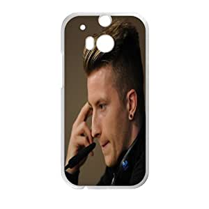 Rubber Quotes Phone Case Marco Reus For HTC One M8 Q5A2112247