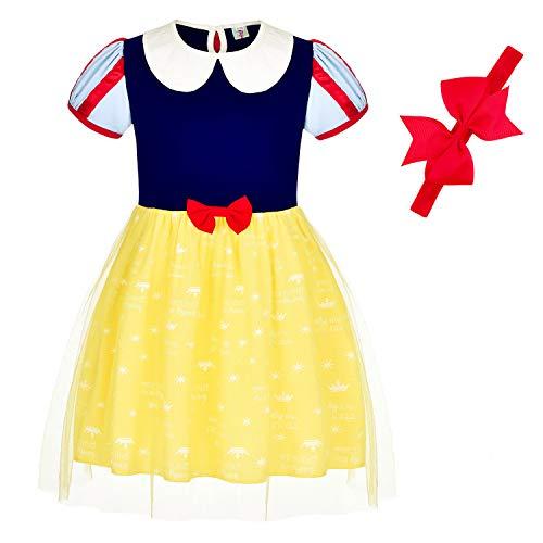 Snow White Costume Toddler - BanKids Princess Dresses Snow White Dress