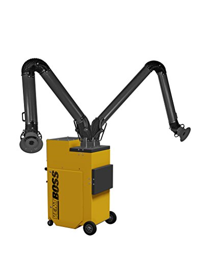 VentBoss S121/G121 Portable Weld Fume Extractor w/ (2) 6