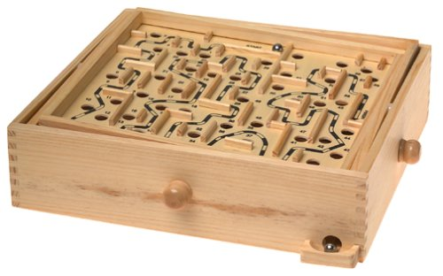 Wooden Labyrinth Puzzle -