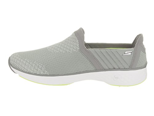 Skechers Performance Womens Go Sport-supreme Walking Shoe Grigio / Lime