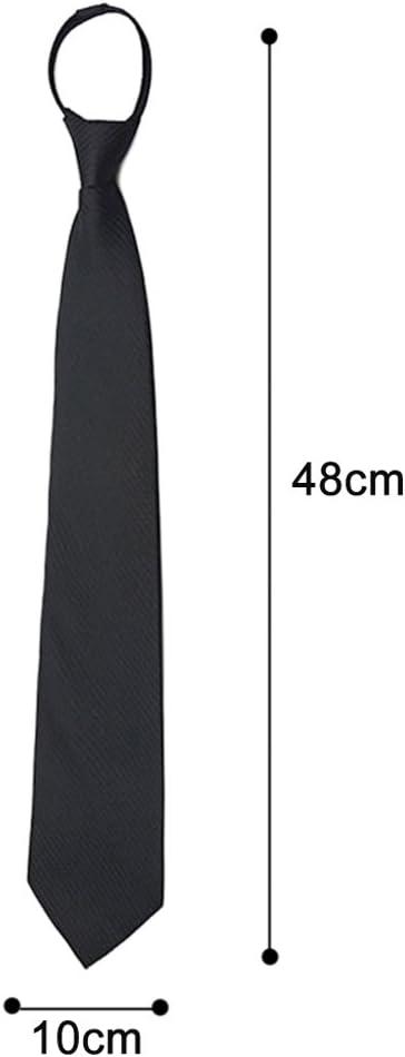 Vococal - 10cm Ancho Corbatas de Lazo de Cremallera para Hombre ...