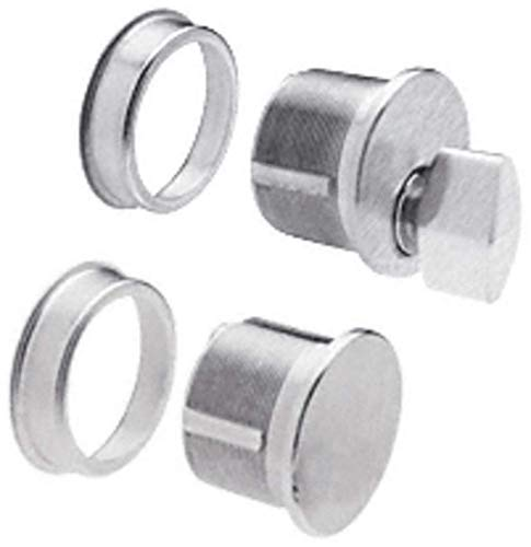 - CRL Brushed Stainless Thumbturn and Dummy Combo - DRA2030BS