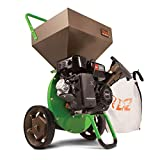 Earthquake TAZZ 30520 Heavy Duty 212cc Gas Powered 4 Cycle Viper Engine 3:1 Capable Multi-Function Wood Chipper Shredder 3