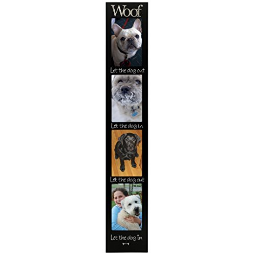 Malden Woof 4-Opening Memory Stick Picture Frame