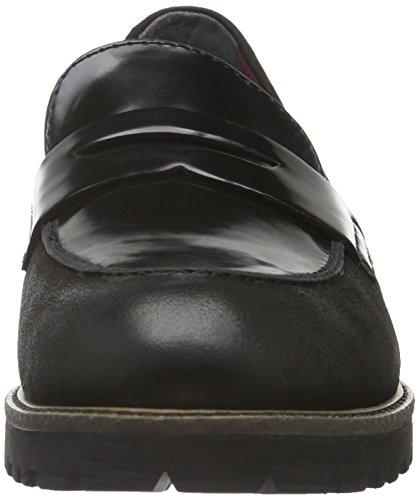 Tamaris Damen 24223 Pantofola Schwarz (spazzola Blk / Blk 035)