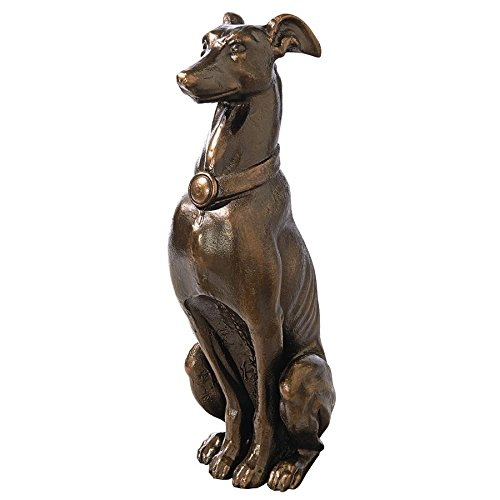 Greyhound Sentinel Cast Iron Dog Statue