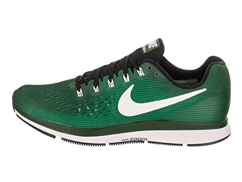 Jordan Nike Heren Air Zoom Pegasus 34 Tb Kloof Groen / Wit Zwart Hardloopschoen 10.5 Heren Ons
