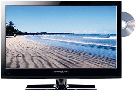 Reflexion ldd16 – Televisor LED TV 16 pulgadas 40 cm DVD sintonizador triple con DVB-S DVB-S2 DVB-C, DVB-T2 12/230 V Caravana: Amazon.es: Electrónica