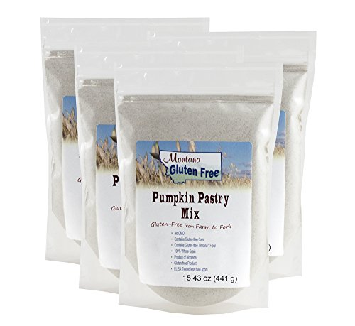 Gluten Free Pumpkin Pastry Mix - 4 Pack