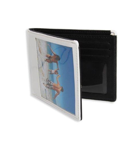 Thumbs Up! Portafoglio Personalizzato con Foto, 24 cm, Bianco
