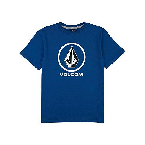 Shirt Genuine Boys (Volcom Boys' Big Crisp Stone Short Sleeve Tee, Camper Blue XL)
