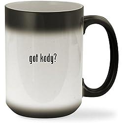 got kody? - 15oz Black Color Changing Sturdy Ceramic Coffee Cup Mug