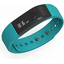 Juboury Bluetooth Activity I5 Smart Bracelet Wearable Smart Wristbands with Pedometer Sleep Tracker for IOS Android Phones