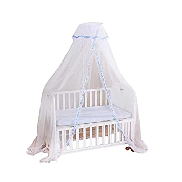 Strong-Willed Baby Bed Block Mosquitoes Tent For Baby Kids Round Dome Bed Canopy Mosquito Netting Curtain Cover Home Baby Mosquit Netting Crib Netting