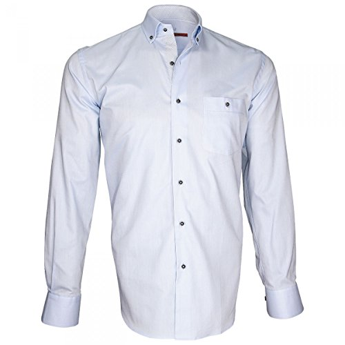 Andrew Derby Chemise Bleu Mc Allister Oxford r7prq