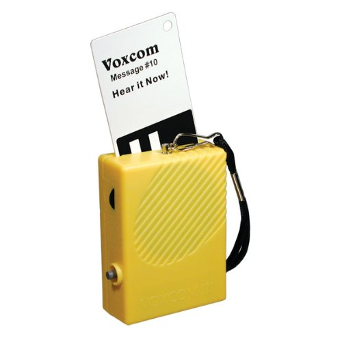 VOXCOM III 100 Voice Labeling System with 100 Cards by Reizen