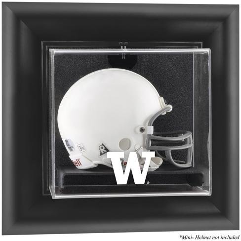 - Washington Huskies Framed Wall Mountable Mini Helmet Display Case