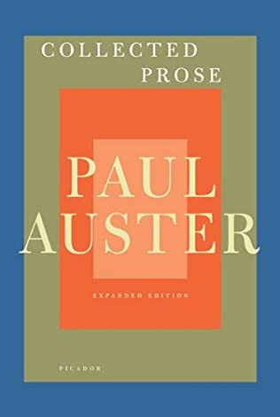 book cover of Collected Prose
