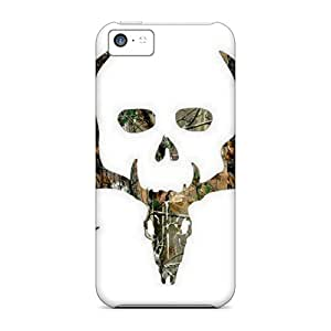 BBv40998mvWy Phone Cases With Fashionable Look For Iphone 5c - Bone Collector Camo