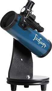 Orion 10021 FunScope 76mm Tabletop Reflector Telescope (Blue)