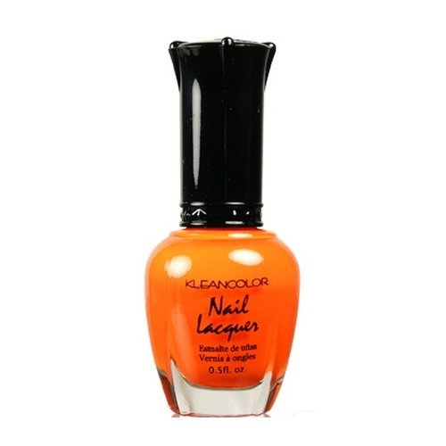 Kleancolor Nail Lacquer Neon Orange 19