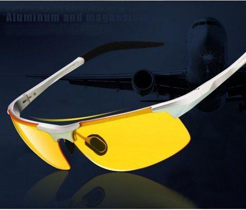 Saitec ® New arrival Night vision glasses, night driving glasses, polarized sunglasses glare driving - - Amazon.com