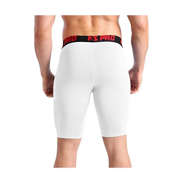 Fashion Shopping Neleus Men's 3 Pack Compression Short with Pocket