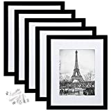 upsimples 11x14 Picture Frame Set of 5,Display