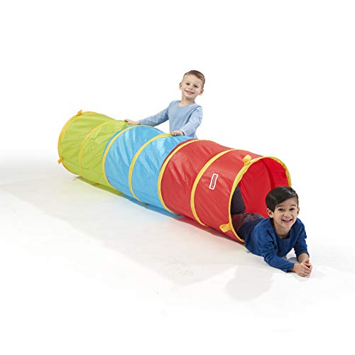 Playhut 6 Ft Play Tunnel - Easy Pop-Up and Fold Down, Connect to other Tents, Durable Materials