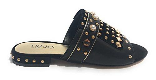S18087 Femme Sandale Nero Liu Jo q65f0HU
