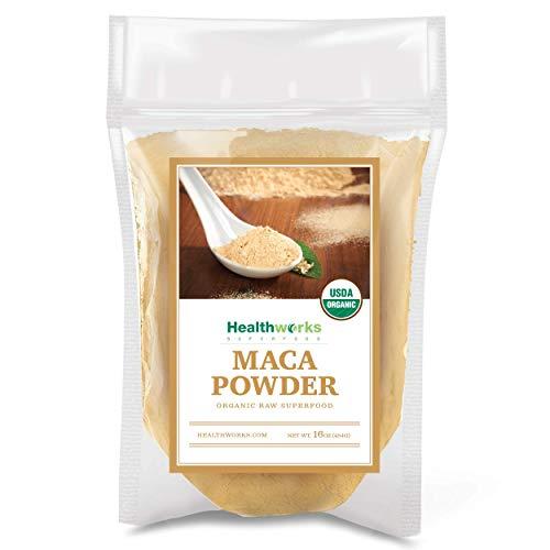 HealthWorks-Wild Organic Peruvian Maca Root Powder