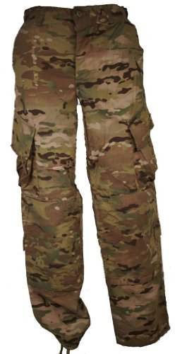 (Genuine Issue US Army Combat Multicam FR Pants Insect Washed X-Large X-Short)