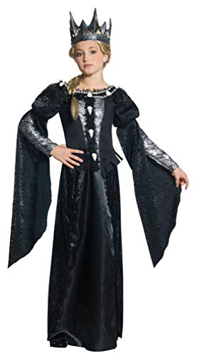 Snow White and The Huntsman Deluxe Ravenna Skull Dress Tween Costume - Medium (Once Upon A Time Snow Queen Costume)