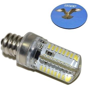 HQRP 4040 40V LED Light Bulb Cool White For Singer 40T9540DC Gorgeous Led Bulb For Singer Sewing Machine