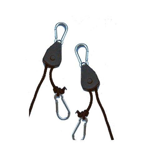Hydroponic Lighting Hanger - Rope Ratchet