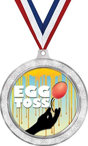 Egg Toss Medal, 2 1/2