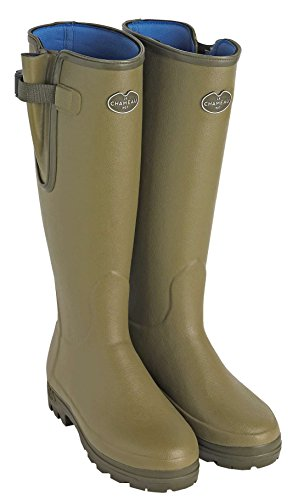 LD Lined LE CHAMEAU VIERZONORD VIERZONORD Boot Women's Vert Vierzon B200 Neoprene 1927 x8XAB