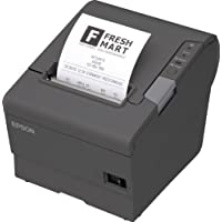Epson TM-T88V Thermal Receipt Printer (USB/Serial/PS180 Power Supply)