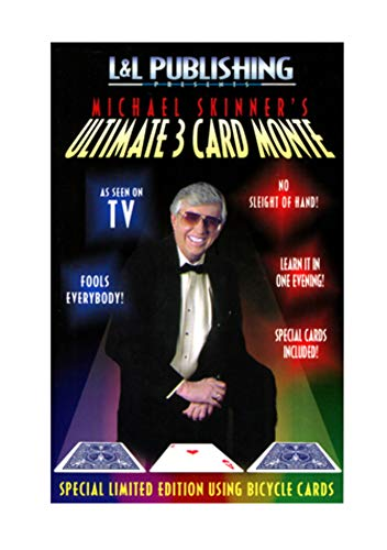 Magic City Ultimate 3 Card Monte Trick From Michael Skinner