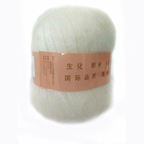 Celine lin One Skein Soft&Warm Angola Mohair Cashmere Wool Knitting Yarn (Alpaca Mohair Yarn)